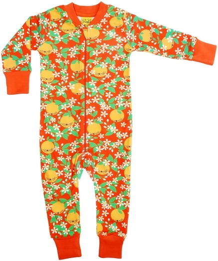Duns Heldräkt/Pyjamas Röda apelsiner