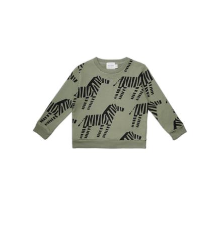 Walnut & Walrus Viggo Sweatshirt, Zebra