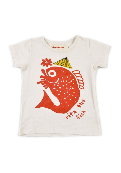 Nadadelazos T-shirt Rita The Fish